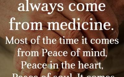 Mindful Stillness and Healing